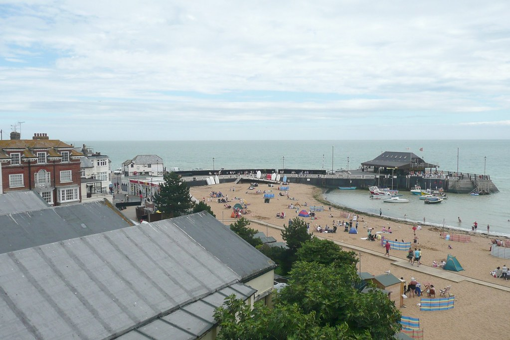 Viking Bay , Broadstairs , Kent