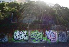 slide.dzyer.kode.gruel (.::rosiero::.) Tags: sanfrancisco california graffiti slide beaches dzyer kode gruel