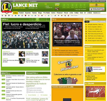 lancenet.com.br: site lancenet