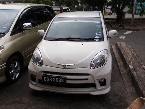 The Myvi Of The Century - BBB 8888