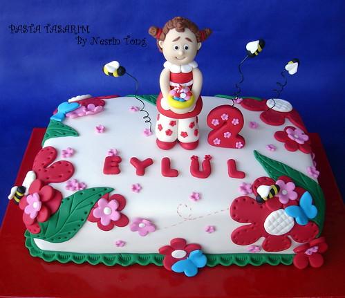 EYLÜL'S 2ND BIRTHDAY CAKE