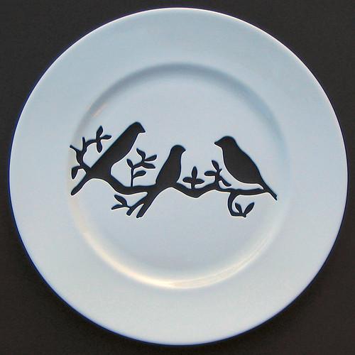 andrew tanner birds plate