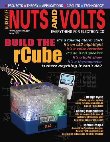 Nuts and Volts Magazine - May 2009 -Build the rCube