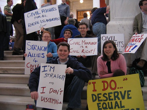2005 Marriage Equality Rhode Island Rally