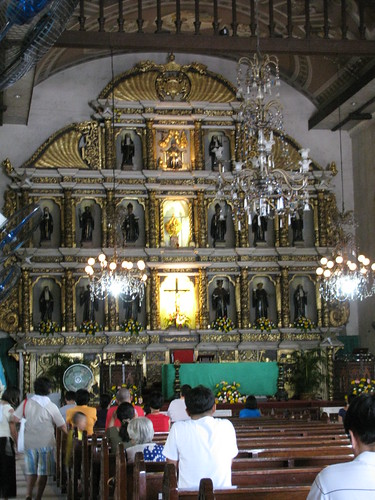 Inside Basilica de Santo Nino