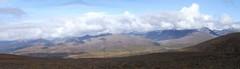 Sinuk River Valley (Travis S.) Tags: autostitch panorama alaska clouds river north panoramic ridge valley nome survey sewardpeninsula stewartriver sinuk sinukriver stewartrivericepatchsurvey sinukrivervalley