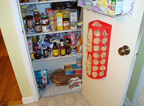clean bottom pantry