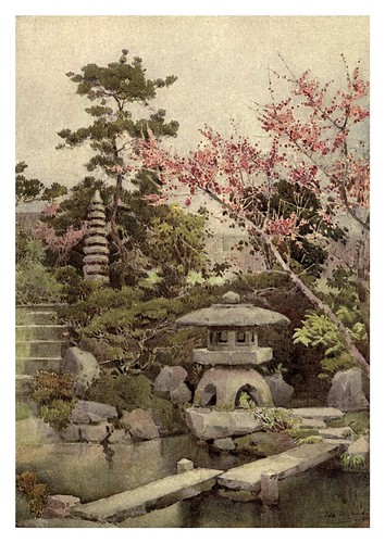 002-Un antiguo jardin japones-The flowers and gardens of Japan (1908)-  Ella Du Cane