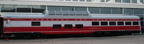 Private Rail Car - Northern Sky, external