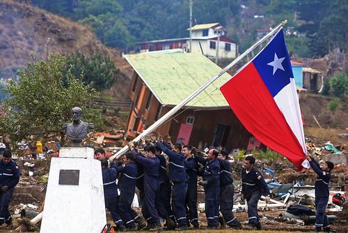 Bandera en chile