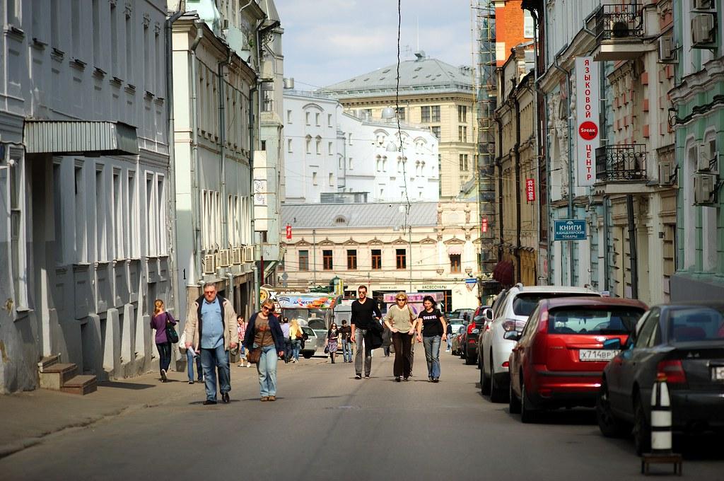 Kuznetsky Most street, Moscow