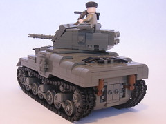 "Canadian Ram Tank Mk.II (final version) (""Rumrunner"") Tags: army gun tank lego wwii machine canadian ww2 ram armour worldwar2 mkii allies brickarms m1919"