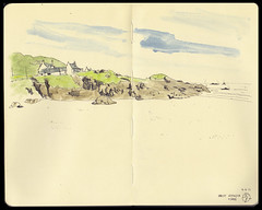 Tiree swim bay