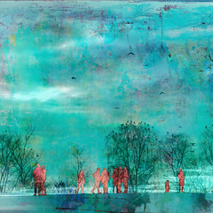Turquoise Afternoon (Wen Nag (aliasgrace)) Tags: 15fav textures montage walls limitededitions wennag montasjer