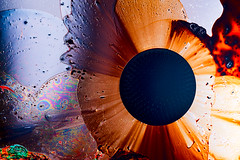 Kaleidoscope (solalta) Tags: ferrofluid macro ambiguous abstract black emotion colour color texture