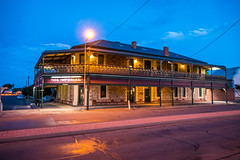 The Imperial Hotel (Serendigity) Tags: outback historic nsw street newsouthwales roadtrip city hotel brokenhill australia mining dusk