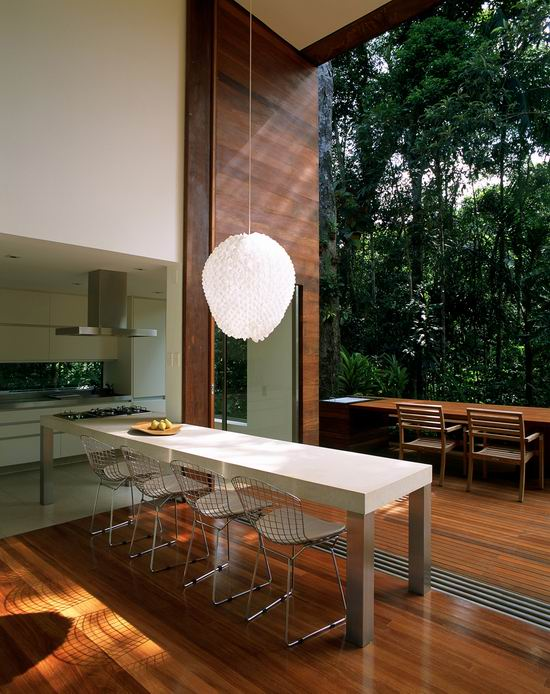 House Iporanga Modern Kitchen Design 2