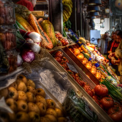 Mercado (Dorli Photography) Tags: madrid vegetables fruit market mercado sanmiguel frutta mercato hdr highdynamicrange verdura dorli dorlino