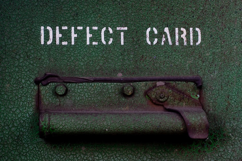 Defect Card