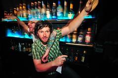 grayson & matt. (joshsisk) Tags: party music dancing parties baltimore nightlife sonar 2009 partypix d300 taxlo joshsisk taxidermylodge