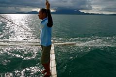 summer breeze (.emong) Tags: travel sea mountain nature water landscape lumix boat philippines panasonic puertoprincesa palawan hondabay lx3