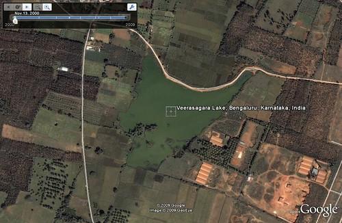 filling lakes karnataka