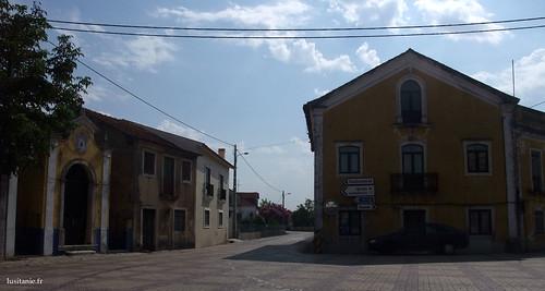 Typical Portuguese village place