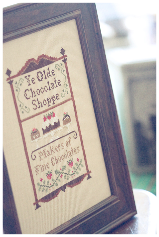 Chocolate Shoppe (Little House Needleworks)