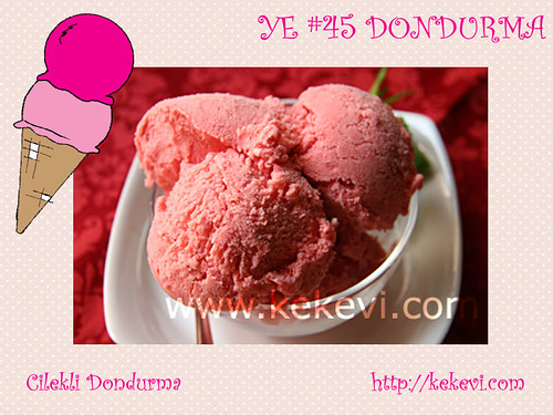 Cilekli Dondurma - Kek Evi