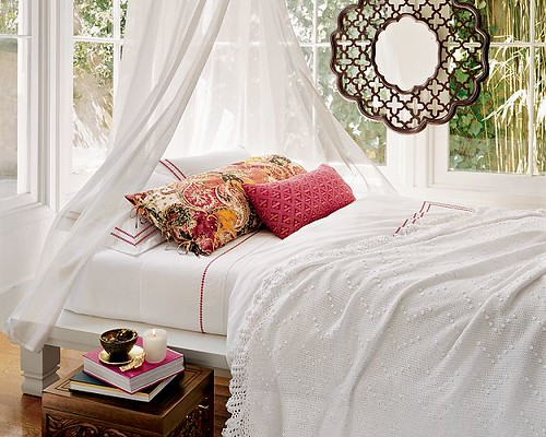 Romantic Bedroom by one haute mess