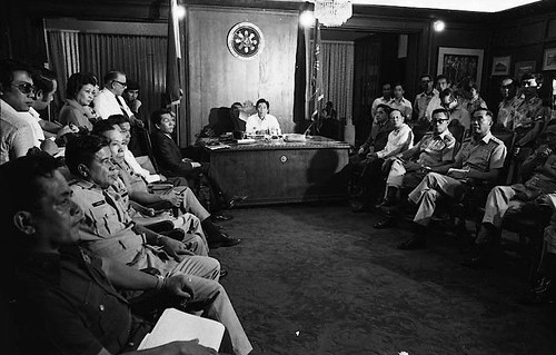 Marcos in the Presidential Study
