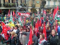 Sciopero generale - 2004 (CISL dei LAGHI - Como e Varese) Tags: como cisl