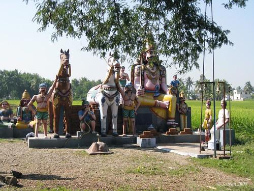 ayyanar statue