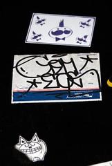 Os Gemeos (mike ion) Tags: brazil streetart brasil graffiti sticker saopaulo sopaulo artederua osgemeos osgmeos mrpringles grafit pringlesguywithamohawk