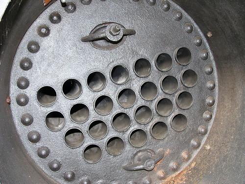 Intérieur de la chaudière