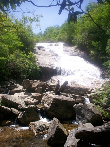 upper waterfall
