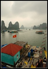 Halong Bay 2 (earthmagnified) Tags: asia southeastasia unesco worldheritagesite vietnam limestone halongbay chinesejunk 1000islands globetrekker karsts vagabonding halongcity gulfoftonkin worldtraveller floatingvillages descendingdragon