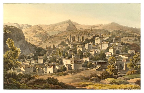 028- Pueblo de Portaria-Views in Grece 1821