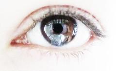 . (francesca amato arragon) Tags: light portrait selfportrait macro eye art girl 2009 francescaamatoarragon