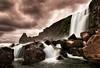 Öxarárfoss, Almannagjá Canyon, Þingvellir; Iceland (Corica) Tags: longexposure water rock landscape waterfall iceland nikon canyon geology foss þingvellir riftvalley tectonic d300 öxarárfoss almannagjá corica