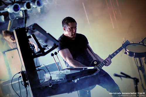 Trent Reznor | Nine Inch Nails @ Bonnaroo 13 June 2009
