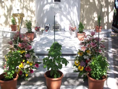 O τάφος του π.Γερβασίου