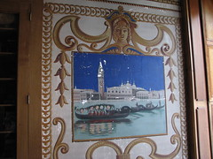 Shard Villa (1872-1874) - interior: wall fresco (origamidon) Tags: usa architecture vermont interior victorian historic cs sv vt nationalregisterofhistoricplaces cutstone nrhp wallfresco shardvilla addisoncounty clintonsmith columbussmith westsalisbury origamidon donshall westsalisburyvermontusa vermontstateregisterofhistoricplaces vsrhp 66000797 italianmuralist sylviopezzol