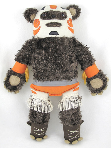 Denn Rodriguez, Jedi Luchador Ewok from Stitch Wars, Bear and Bird 2009