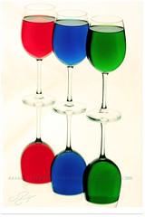 Three colored cups (Qatar Earth  ) Tags: three cups colored doha qatar          colourartaward  nostrobistinfo removedfromstrobistpool seerule2