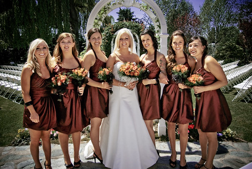 Bridesmaids Dresses For Fall Weddings Bridesmaids