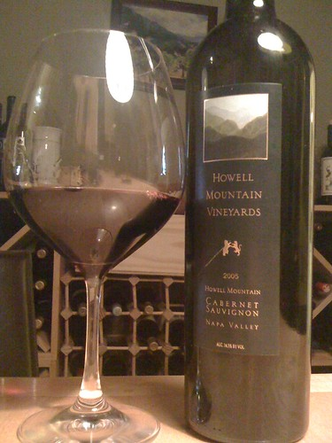 2005 Howell Mountain Vineyards Cabernet Sauvignon