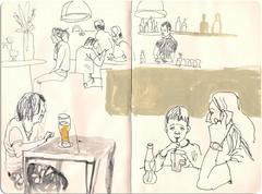 bigbeer (marin71) Tags: art moleskine illustration sketch drawing urbansketchers