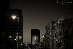 Calle Independencia (Carlos Guardado) Tags: chihuahua blancoynegro canon mexico carlos nocturna 2009 independencia centrohistorico guardado calleindependencia chihuahuacentro carlosguardado