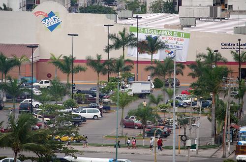 Mike Walking to Sam's Club - Puerto Vallarta